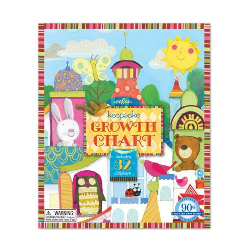 Eeboo Animal Tower Growth - Growth Eeboo Chart