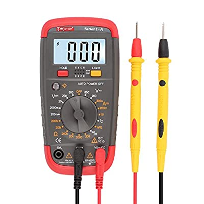 uxcell Smart-A Auto off Digital Multimeter DMM Temp Test Thermostat