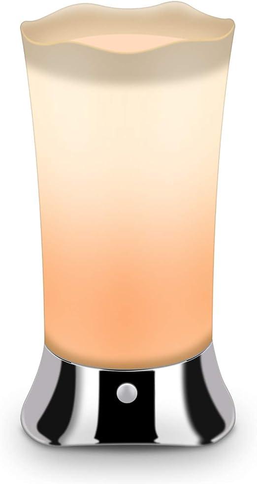 Zeefo Lámpara de mesa inalámbrica con sensor de movimiento