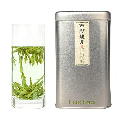 Luxtea Chinese Top10 Famous Tea  Xihu Long Jing / West Lake Dragon Well / Longjing  Grade AAA (Super Grade)