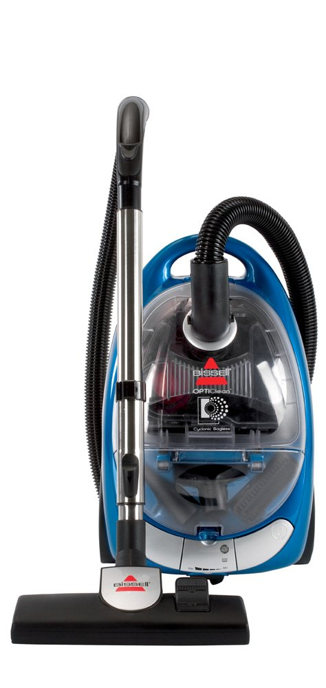 BISSELL OptiClean Cyclonic Canister Vacuum, Bagless 66T61