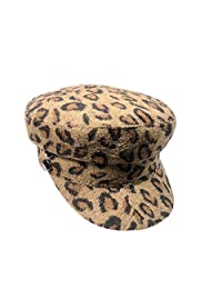 OMINA Hat Women's Clothing, Autumn Winter Wool Hand-Knitted Beret Fashion Flat Warm