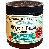 Orrington Farms Vegan Broth Base & Seasoning, Chicken Flavored, 6-Ounce (Pack of 6) by Orrington Farms