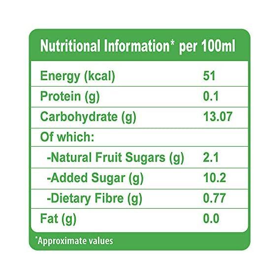 B Natural Orange+ Juice, Supports Immunity, 1L (Pack of 2)
