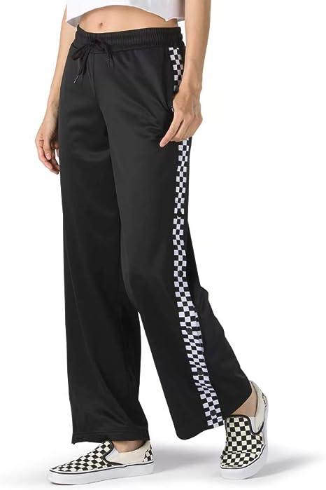 Amazon Com Vans Pantalones De Chandal Talla Xs Diseno De Cuadros Color Blanco Y Negro Clothing