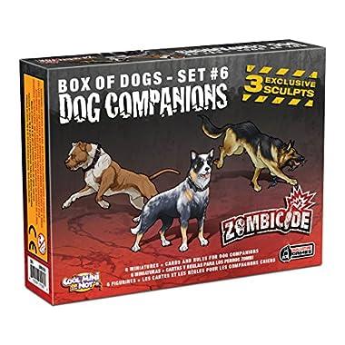 Zombicide: Companion Dogs Board Game (6 Set)