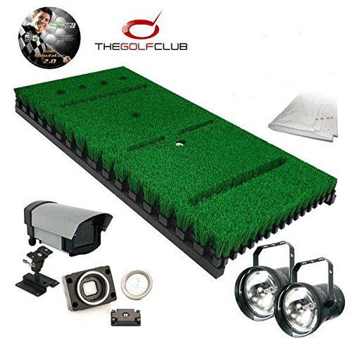 PROTEE Ultimate Golf Simulator Package 150K CoursesNEW for 2019 10 x 15 x 10 Free Touchscreen