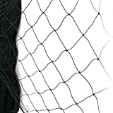 "50' X 50' Net Netting for Bird Poultry Aviary Game Pens New 2.4"" Square Mesh Size"