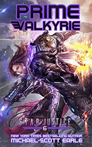 Prime Valkyrie: A Paranormal Space Opera Adventure (Star Justice Book 6) cover
