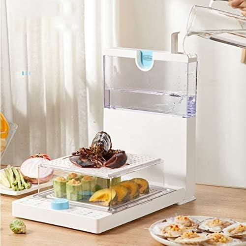 NXYJD Machine De Cuisson Électrique De Fruits De Mer De Nourriture Électrique De Cuiseur De Nourriture De Chauffe-Plats