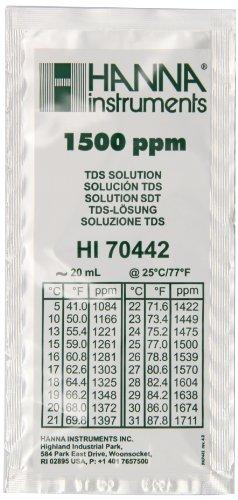 Hanna Instruments HI70442P 1500 mg/L (ppm) TDS Calibratio...