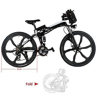 Best Electric Bike Under $1000 Kemanner 26 inch Electric Mountain Bike
