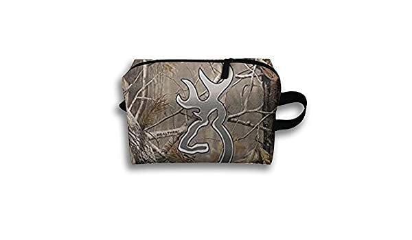 80bed758d9f8 Amazon.com  LIYUNRT23 Camouflage Realtree Travel Makeup Cosmetic Pouch  Makeup Travel Bag Purse for Women Or Girls  Home   Kitchen