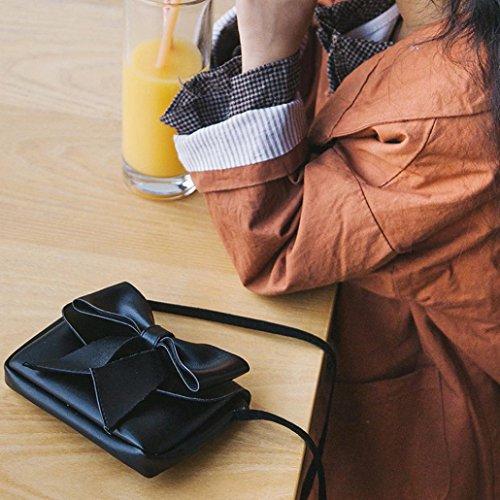 Bolsos ✦JiaMeng Niñas de Patchwork Mujeres Hebilla para Señoras Aleta Bolsos Bolso de Mano Mujer Pequeño Crossbody Moda Hombro Casual de Negro Uz6xYEqx
