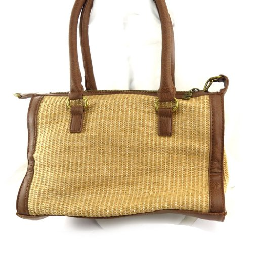 Borsa 'french touch' 'Desigual' beige marrone.