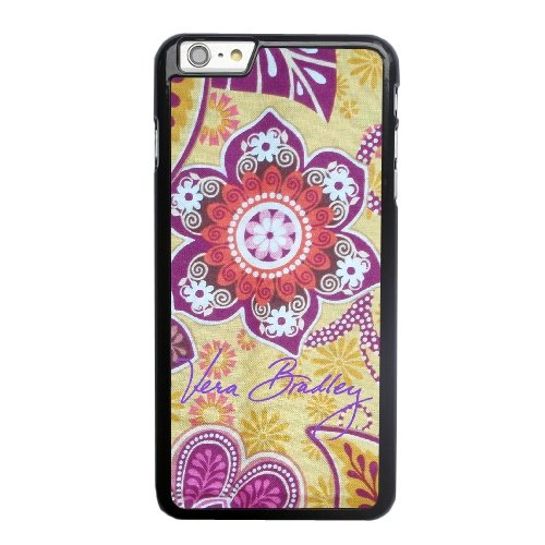 Coque,Apple Coque iphone 6 6S (4.7 pouce) Case Coque, Generic Vera Bradley Bali Gold 'Gabby' Cover Case Cover for Coque iphone 6 6S (4.7 pouce) Noir Hard Plastic Phone Case Cover