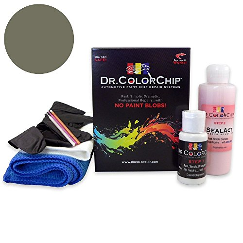 Dr. ColorChip Porsche All Models Automobile Paint - Slate Gray Metallic 23F/Q9 - Road Rash Kit