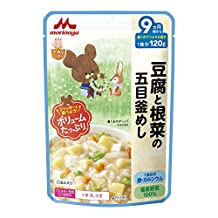Twelve firmness 1 serving of 120g ~ that Tsubuseru in Morinaga large satisfaction rice tofu and gums from Gomoku kettle rice 9 months around May of root vegetables