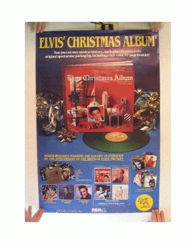Elvis Presley Poster Christmas