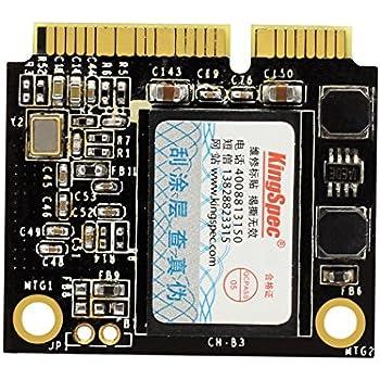 Amazon Com Kingspec Msh 256 256gb Half Size Msata Mini Pci E Mlc