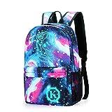 Anime Anti-theft Backpack, Luminous School