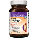 New Chapter Calcium Supplement - Bone Strength Clinical Strength Plant Calcium with Vitamin D3 + Vitamin K2 + Magnesium - 120 ct Tiny Tabs