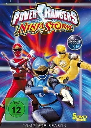 Power Rangers Ninja Storm - Complete Season Alemania DVD ...