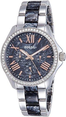 Fossil Women's AM4632 Analog Display Analog Quartz Silver Watch