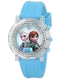 Disney Kids  FZN3581 Frozen Reloj para niña con personajes Anna y Elsa y  brazalete de e607328a8339
