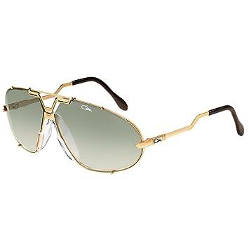 ab26c94ccaba Aviator Sunglasses Cazal Vintage 906 col 097 Gold Green Lens 100% Authentic  new  Amazon.co.uk  Sports   Outdoors