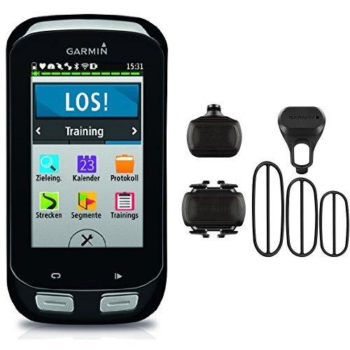 Garmin Edge 1000 + Sensor de velocidad y sensor de cadencia para bicicleta