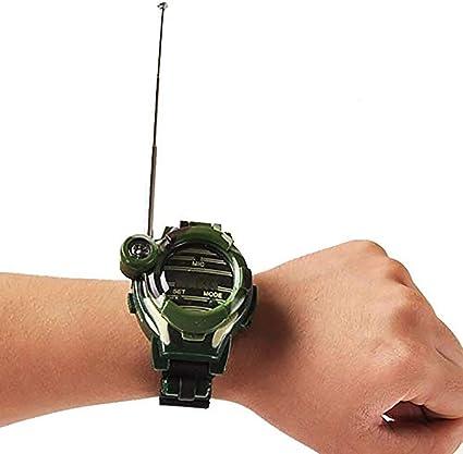 mit leichtem Mikrofon 2 Teile RSGK 7-in-1-Kinderuhr Walkie-Talkie Geschenk f/ür M/ädchen//Jungen interaktives Eltern-Kind-Spiel Walkie-Talkie-Spielzeug