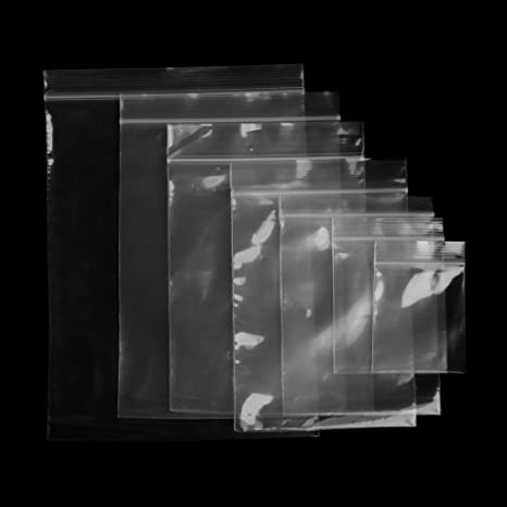 Xuniu 100 Piezas de plástico Transparente OPP Bolsa de ...