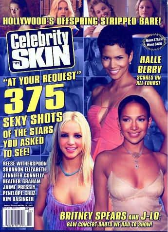 Celebrity Skin Magazine Volume 27, # 122. November 2003