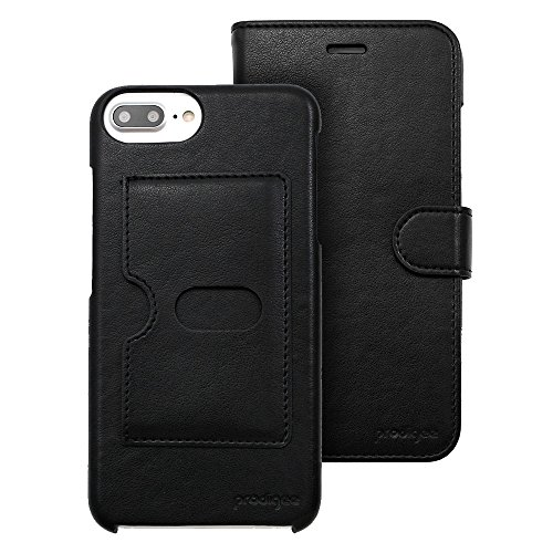 - Prodigee [Wallegee] Black For iPhone 8 Plus + (2017) - iPhone 7 Plus + (2016) & iPhone 6/ 6s Plus + (5.5