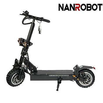 NANROBOT RS2 2400 W Patinete eléctrico Ligero Plegable con ...