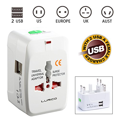 LURICO 2 USB Charging Port (1A) All in One Univ...