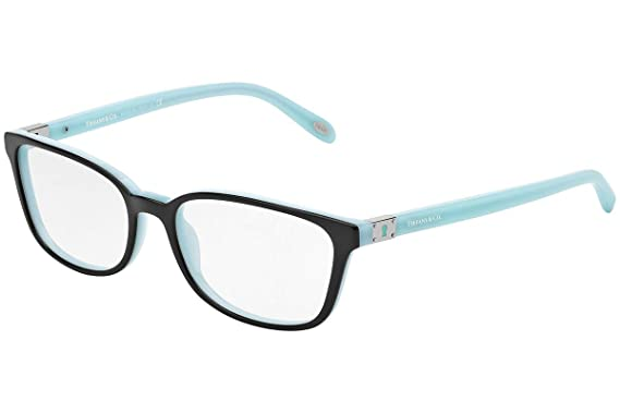 d2a14ea8cb Amazon.com  Tiffany   Co. TF2094 - 8055 Eyeglass Frame BLACK BLUE ...