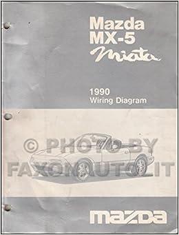 1990 dodge daytona wiring diagram 1990 mazda mx 5 miata wiring diagram manual original manual  1990 mazda mx 5 miata wiring diagram
