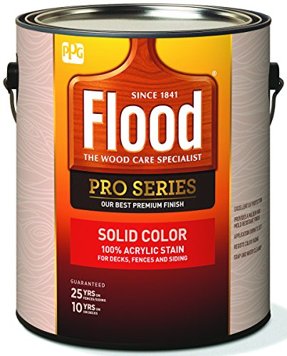 Flood Solid Color Stain - Wood Stain Neutral 1gal