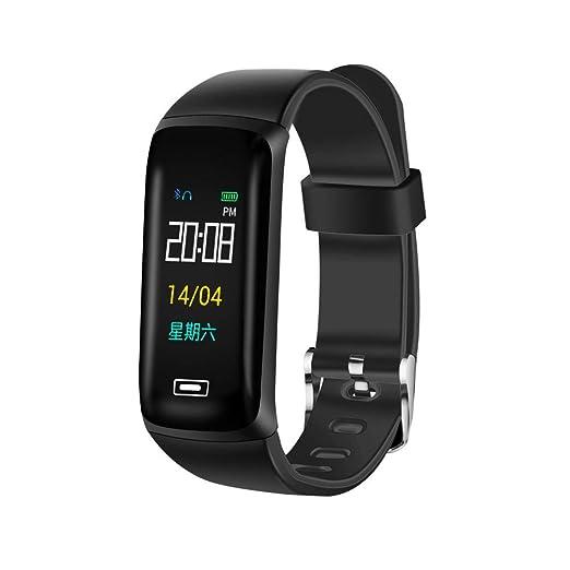 OSYARD Montre Connectée Montre Intelligente de Bracelet PodomèTre Bande Poignet Sommeil Sports DActivité Forme
