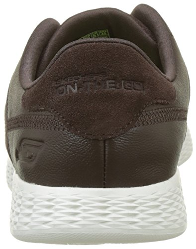 Running Skechers Marrone on The Sharp Chocolate Go Uomo Scarpe Glide ZYgZA