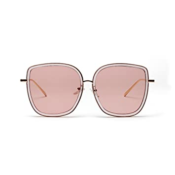 e8675c26821 Image Unavailable. Image not available for. Color  Rumas Fashion Oversize  Sunglass ...