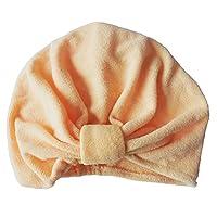 Surker Newly Design Microfiber Bath Towel Hair Dry Hat Cap Quick Drying Lady Bath Tool