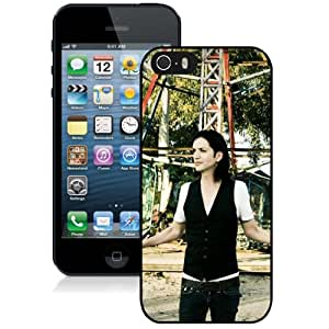 Beautiful Designed Cover Case With Placebo Girl Band Park Outdoor For iPhone 5S Phone Case