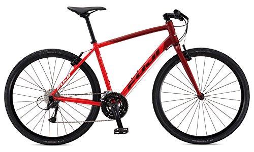FUJI(フジ) RAFFISTA クロスバイク 2017年モデル サイズ2327SPEED、アルミフレーム、700C ガーネットレッド 17RFSTRD23 B01LYX1WEC