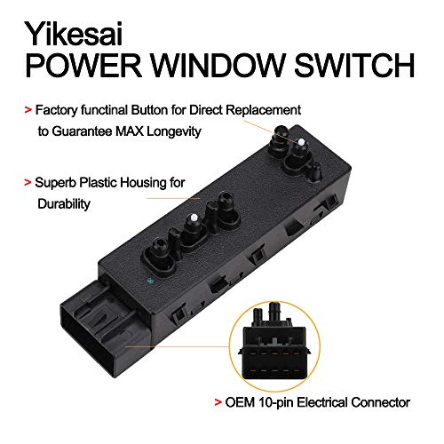 Passenger Side Power Seat Switch For Chevrolet Buick GMC  25974715 12451498