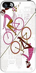 Snoogg Espejo De Ciclismo 2557 Diseñador Protectora Volver Funda Para El Ipho...