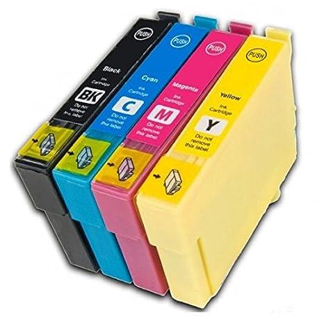 Prestige Cartridge T1281 Pack de 3 cartuchos de tinta para Epson Stylus Serie, negro