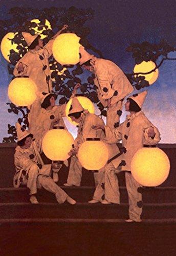 (ArtParisienne Lantern Bearers Maxfield Parrish 24x36-inch Paper Giclée Print)
